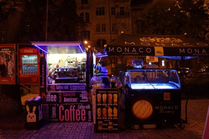 Kokemuksia Kiovasta - mitä tehdä ja minne mennä? Ruokailut ja juomat Kiovassa.