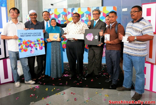 Celcom, Celcom Axiata, The cube, Get Fun Facts from Around The World, contest, winners