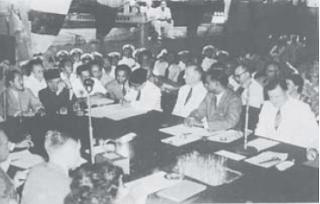 Sejarah Perundingan Hooge Veluwe, Linggarjati, Renville, Roem Royen, Konferensi Inter Indonesia, Konferensi Meja Bundar (KMB) dan Pengakuan Kedaulatan