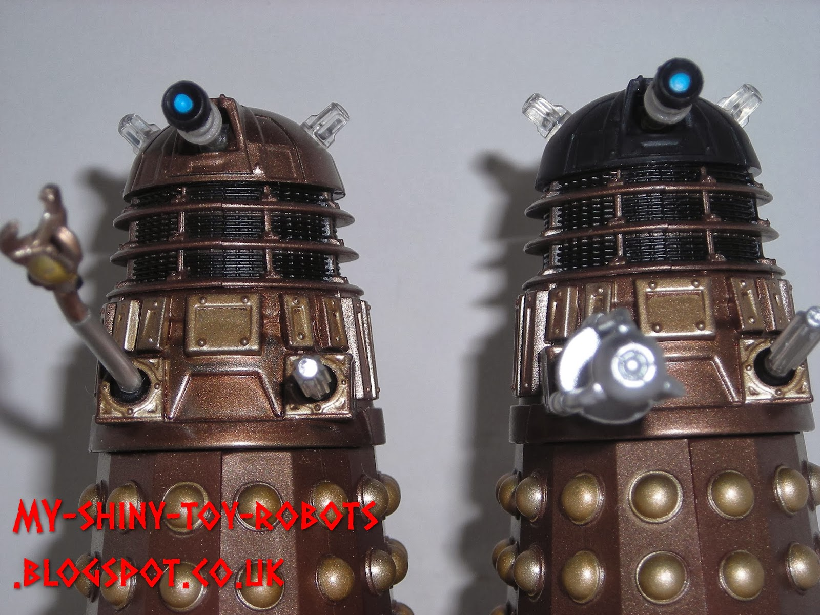 Gold Dalek Series 7 Action Figure Doctor Who Bronze