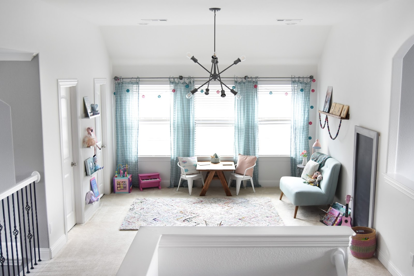 Pillow Thought Eclectic Play Room