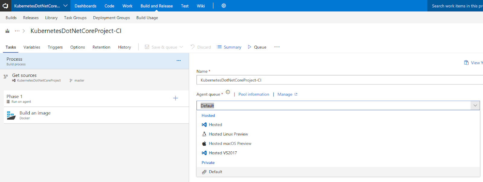 Host your Private VSTS Linux Agent on Azure Kubernetes