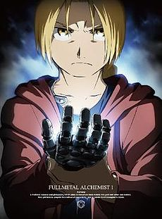 capa do DVD de Fullmetal Alchemist Brotherhood