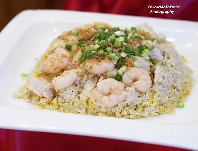 Fried Rice with Seafood & Anchovies