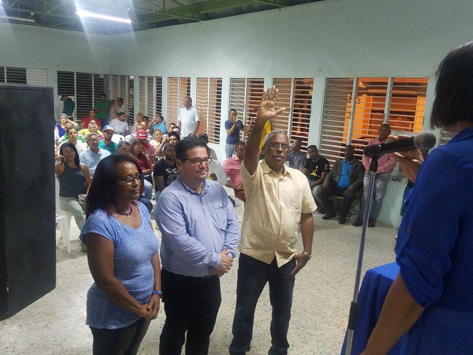 PRM juramenta directiva electa en Navarrete