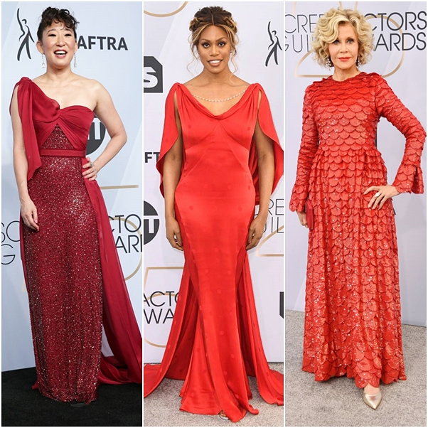 Os looks do SAG Awards 2019