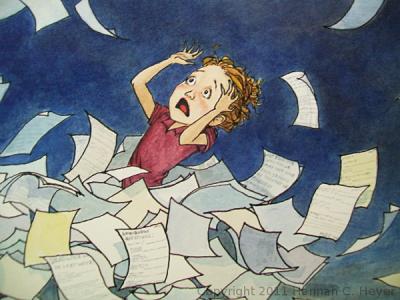 El caos de ser escritor