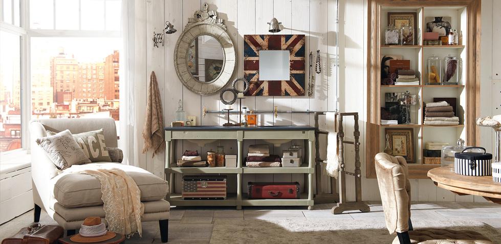 Boiserie c arredamento in stile new industrial vintage for Arredamento stile