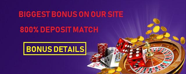 800% high roller bonus RTG casinos | Nabble Casino Bingo