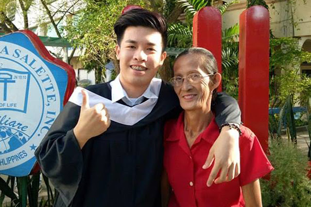'Tiniis Ko Para May Pera Kami' Son of Labandera Worked as Bottle Cleaner and Graduates With Honors. Read Their Success Story Here!