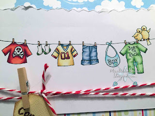 Dearie Dolls Baby Clothes Line