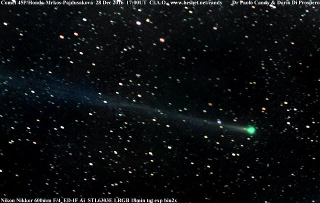 Κομήτης θα εμφανιστεί στην αλλαγή του χρόνου (βίντεο)