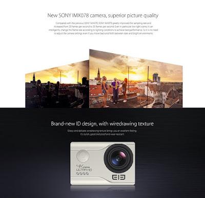 Elephone EleCam Explorer Elite 4K - Uma Action Cam a Valer