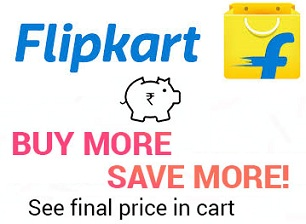 Flipkart: Buy 2 or more Save more – Extra Discount on Electronics & Auto Accessories