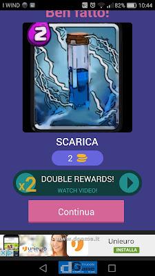 Indovina la carta Royale soluzione livello 49