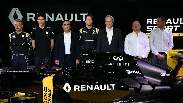 Renault presenta sus armas en la F1
