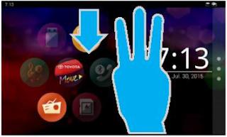 cara pengoperasian audio all new kijang innova kunci grand avanza pada toyota andri layar home geser 3 jari