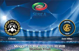 Prediksi Udinese vs Inter Milan 5 Mei 2019