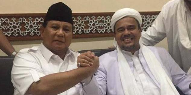 Prabowo Hingga Habib Rizieq Korban Fitnah Saracen