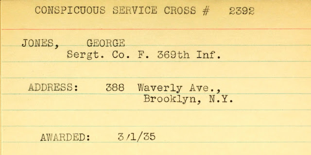 George Jones Received The Croix de Guerre and The Bronze Star --How Did I Get Here? My Amazing Genealogy Journey