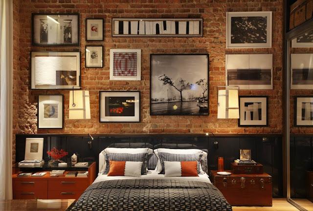 Dormitorios Con Paredes De Ladrillos Dormitorios