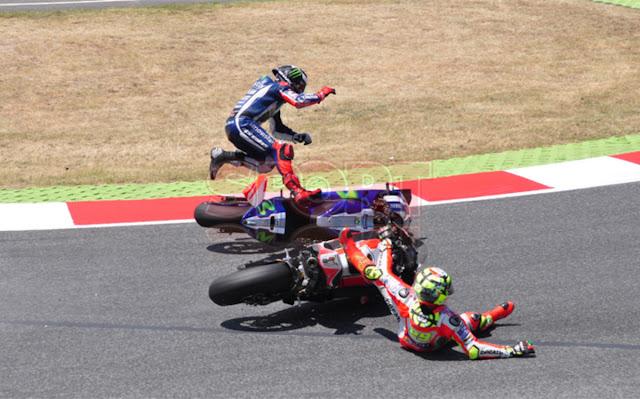 Lorenzo Masih Marah dengan Iannone