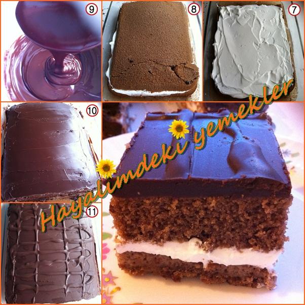 Çikolatalı Browni Pasta Tarifi,en iyi resimli kek ve pasta tarifleri