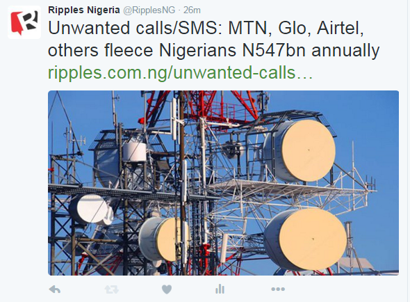Unwanted calls/SMS: MTN, Glo, Airtel, others fleece Nigerians N547bn annually