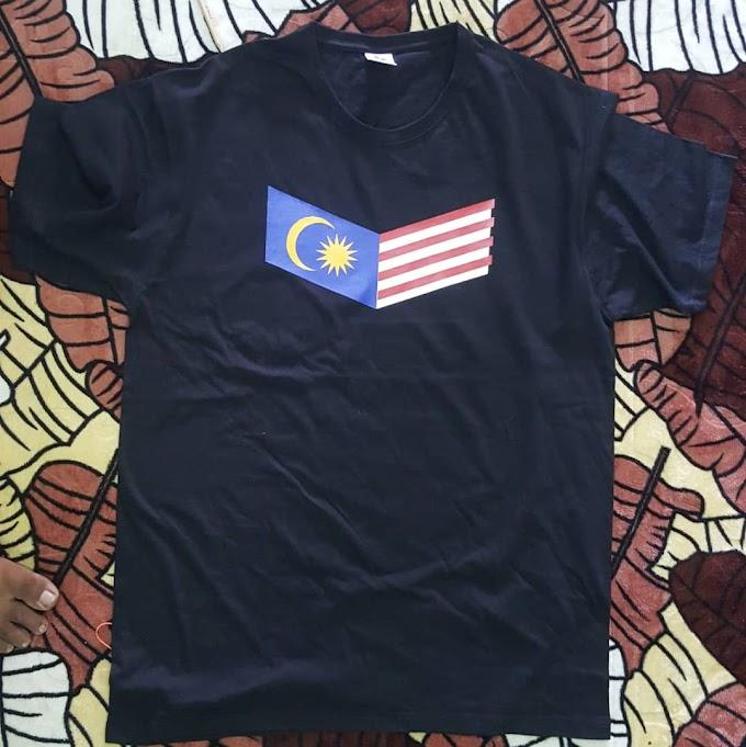 BAJU T-SHIRT SEMPENA BULAN KEMERDEKAAN MALAYSIA