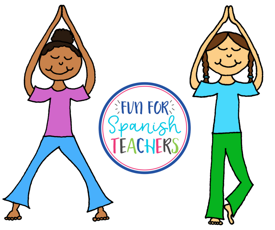Yoga In Spanish Class Funforspanishteachers