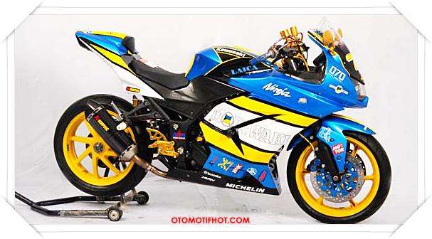 Modifikasi Ninja 250 R Terbaru