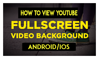 How to view YouTube Suggested Videos Full Screen