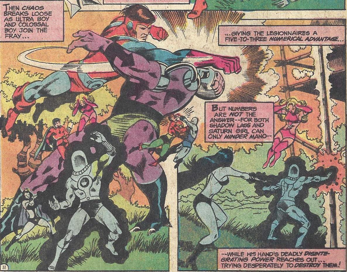 Bronze Age Babies: Giant-Size July: Legion of Super-Heroes 231