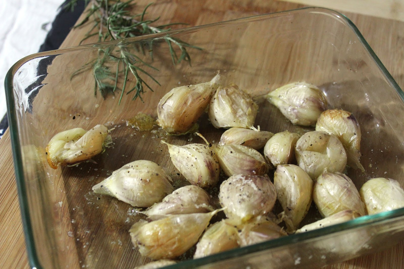 44-clove garlic soup - Saltwater - eating and cooking ...