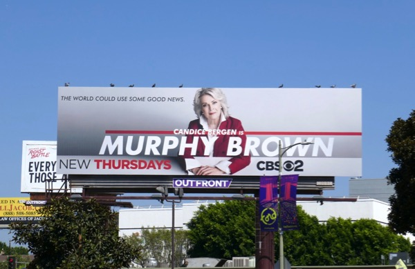 Murphy Brown 2018 revival billboard