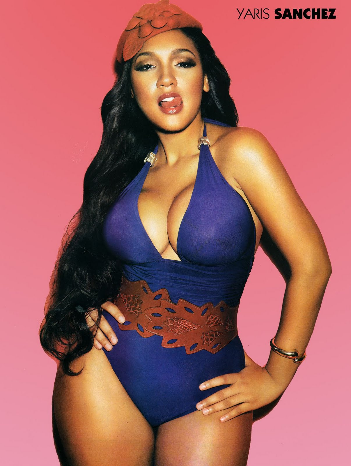 Yaris Sanchez Featured in BlackMen Magazine 40/40 Latina ...