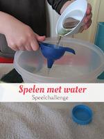 Spelen met water - speelchallenge