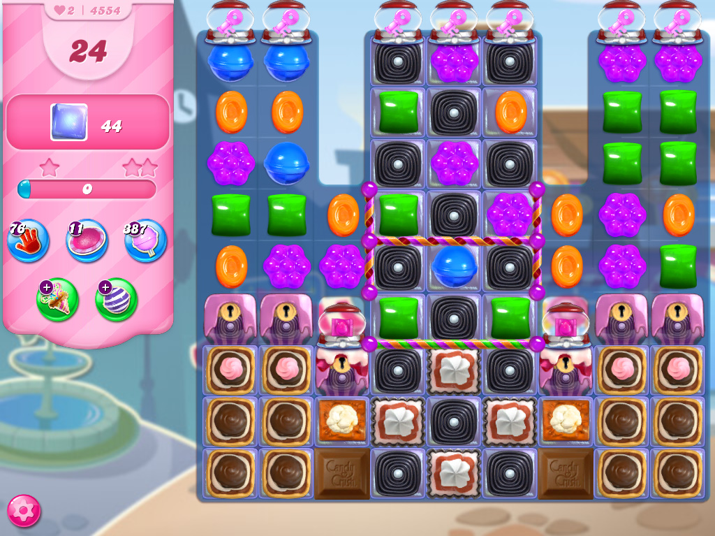 Candy Crush Saga level 4554