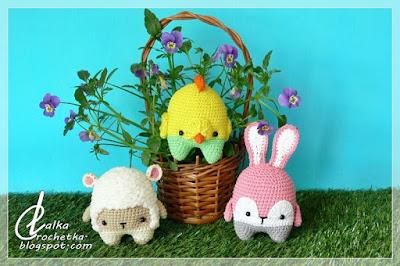 http://lalkacrochetka.blogspot.com/2018/03/spring-trio-wiosenne-trio.html