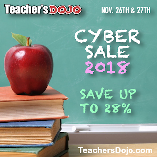 Teacher's Dojo Cyber Monday Sale 2018