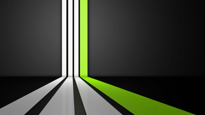 Wallpaper: Clean Lines (Green Version)