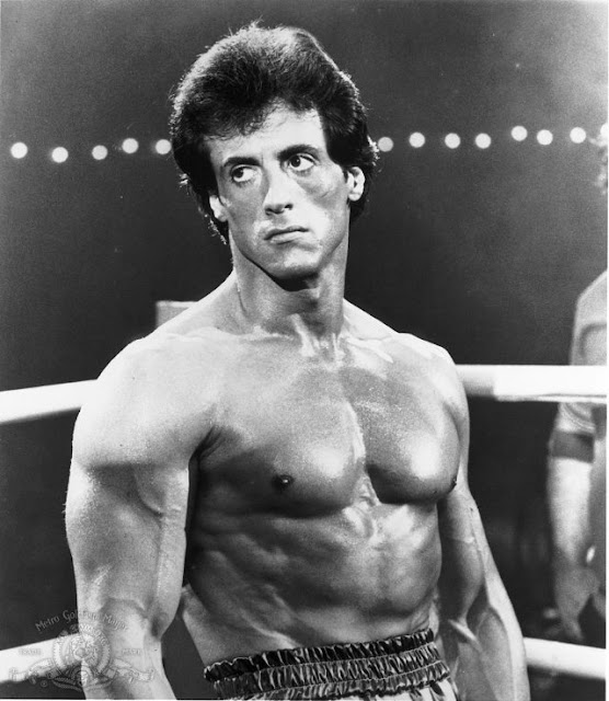 Sylvester Stallone Body in Rockey
