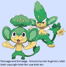 Pokémaniacal • Pansage, Pansear, Panpour, Simisage ...Pokemon Pansear Evolution Chart