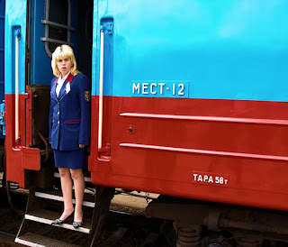 Trans Siberian carriage attendants