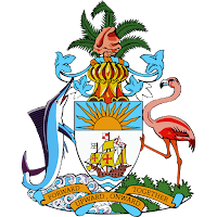 Logo Gambar Lambang Simbol Negara Bahama PNG JPG ukuran 200 px