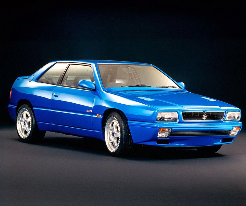 Show Or Display: 1996-1997 Maserati Ghibli Cup - Approved