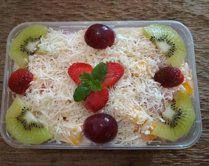 Cara Membuat Salad Buah Segar Yang Enak dan Praktis