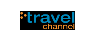 Travel Channel UK (current logo - inverted background)