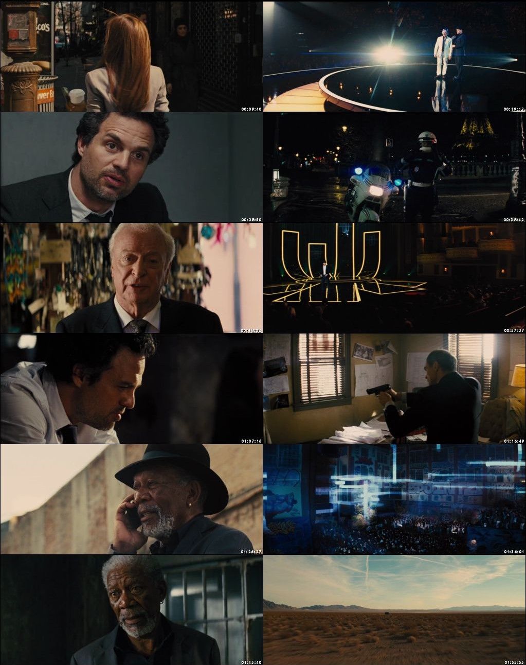 Now You See Me 2013 Dual Audio 1080p [Hindi - English] 1.8GB BRRip