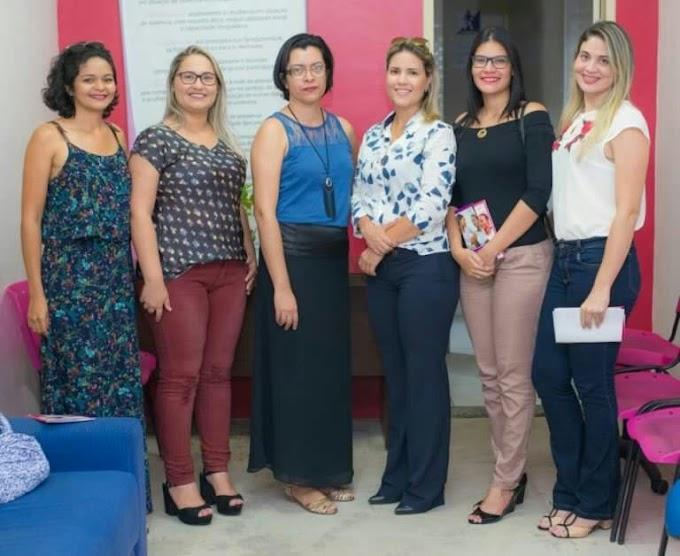 Secretaria da Mulher de Caxias participa de seminário em São Luís